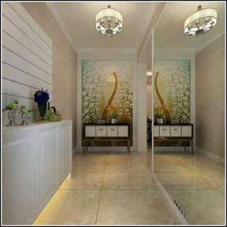 大城小院现代简约三室二厅装修效果图