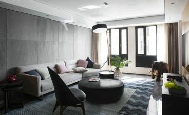 怡翠花园二室一厅现代简约装修效果图