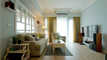 美式风格158平四室二厅装修效果图