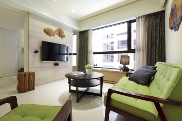 恒大香山华府现代简约二室二厅装修效果图