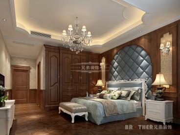 玥湖园洋房装修半包三室二厅装修效果图
