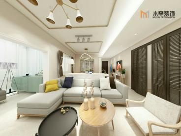 文锦新城北欧三室二厅装修效果图