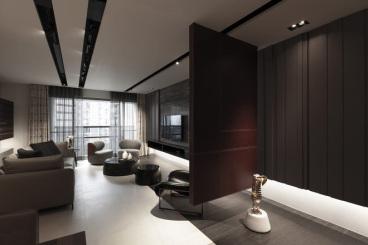 棕榈泉悦江国际二室二厅100平装修效果图