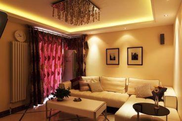 保利香槟花园A区二室二厅全包装修效果图
