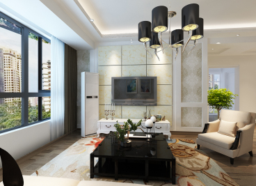 七里香榭现代简约三室二厅装修效果图