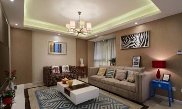 金桥天海湾二室一厅全包装修效果图