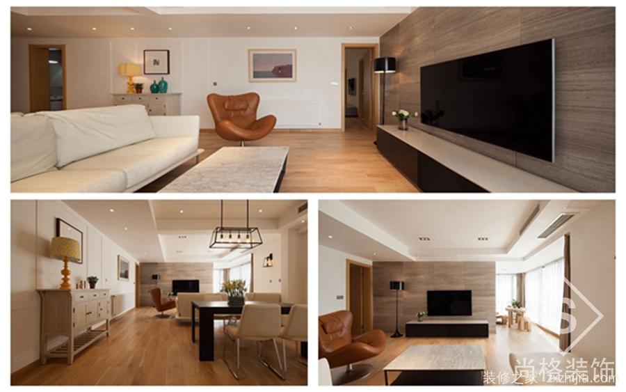龙城一号146平三室二厅装修效果图