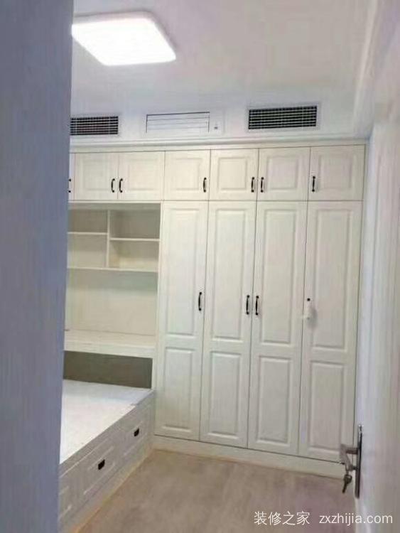 华远海蓝城115平三室二厅装修效果图