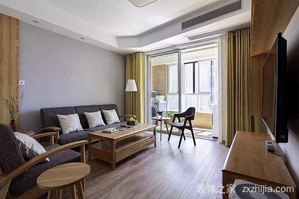 富力城二室一厅现代简约装修效果图