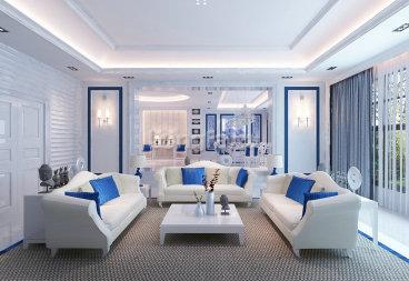 新区瑞玲雅苑二室二厅现代简约装修效果图