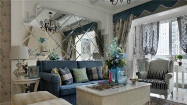 白玉花园全包二室二厅装修效果图