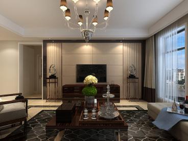 富丽紫金山庄五室三厅全包装修效果图