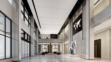 华润上华办公楼六室三厅3350平装修效果