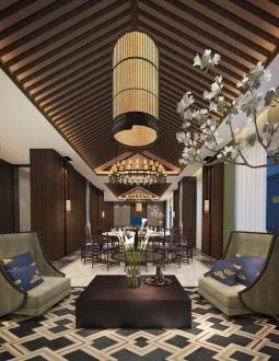 松江会馆中式六室三厅装修效果图