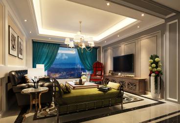 阳光海岸全包四室二厅装修效果图