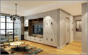 路雅园112平二室二厅装修效果图