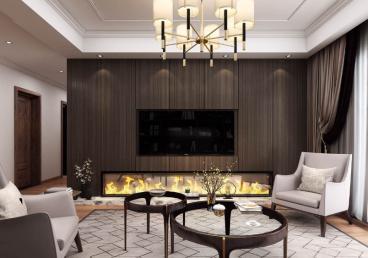 阳光100二室一厅现代简约装修效果图