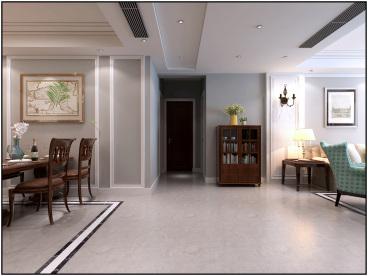 东方龙城全包二室一厅装修效果图