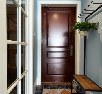 龙湖花千树美式四室二厅装修效果图