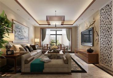 国富沙磁巷四室二厅110平装修效果图