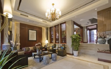 珠江城别墅全包中式装修效果图