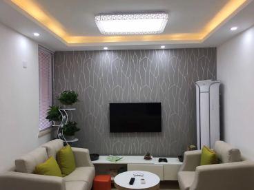 松泽家园3期现代简约二室一厅装修效果图