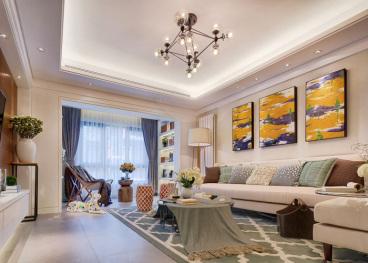云景世家120平二室二厅装修效果图