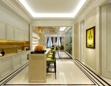 中海御道三室三厅185平装修效果图