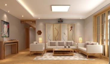 汉沽滨海花园三室二厅半包装修效果图