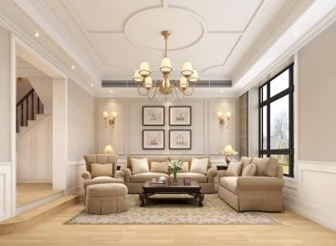 西青 博文苑美式六室二厅装修效果图