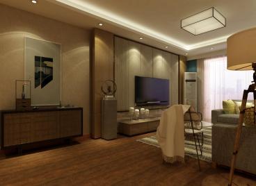 龙滨园三室二厅半包装修效果图