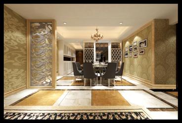 中天世纪新城三室一厅全包装修效果图