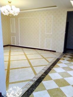 黄海明珠山庄简欧三室二厅装修效果图