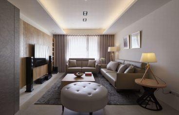 西固东丽二室二厅80平装修效果图