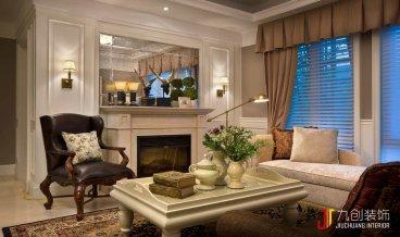 元一蔚蓝观邸住宅二室二厅全包装修效果图