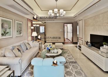 融城·昆明湖现代简约三室二厅装修效果图