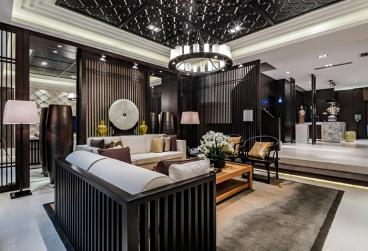 天津津南新城别墅360平五室三厅装修效果