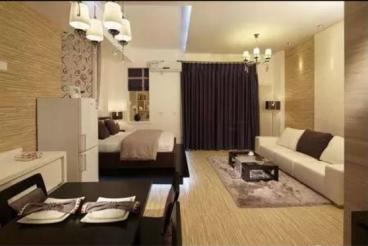 中海国际一室一厅45平装修效果图