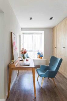 绿都褐石街区三室二厅全包装修效果图