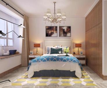 和谐家园三室二厅全包装修效果图