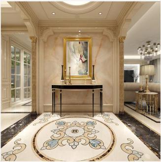 西水东中央生活区新古典六室二厅装修效果图