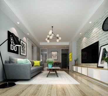 联建新苑二室二厅现代简约装修效果图