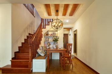 保亿风景御园美式二室二厅装修效果图