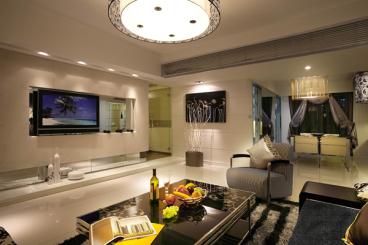 青林湾五期全包三室一厅装修效果图