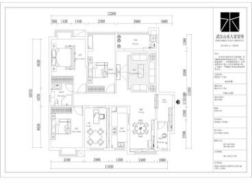 龙山观邸全包新中式装修效果图
