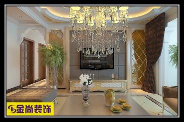 华润紫云府165平三室二厅装修效果图