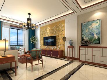 祥和苑三室二厅137平装修效果图