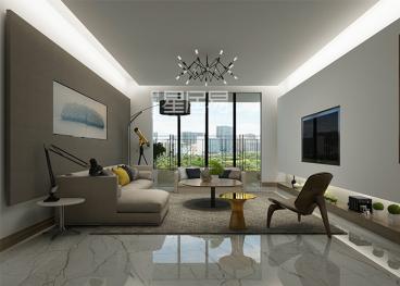 紫荆公馆二室二厅现代简约装修效果图