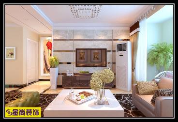 梦世界润园全包三室二厅装修效果图