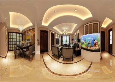 天籁花苑二室二厅160平装修效果图